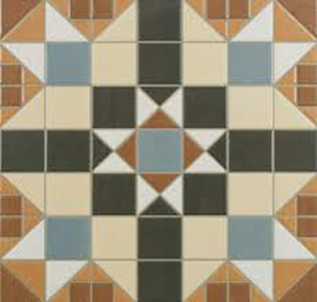 victorian tile pattern